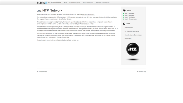 ntp.net.nz